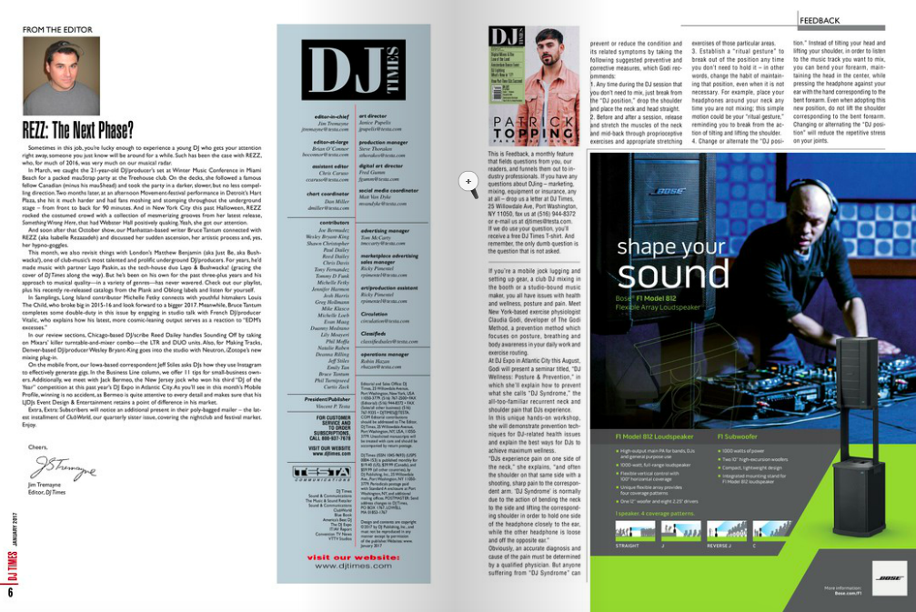 DJ Magazine on The Godi Method